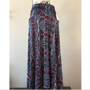 New Maeve Anthropologie knit jersey maxi skirt
